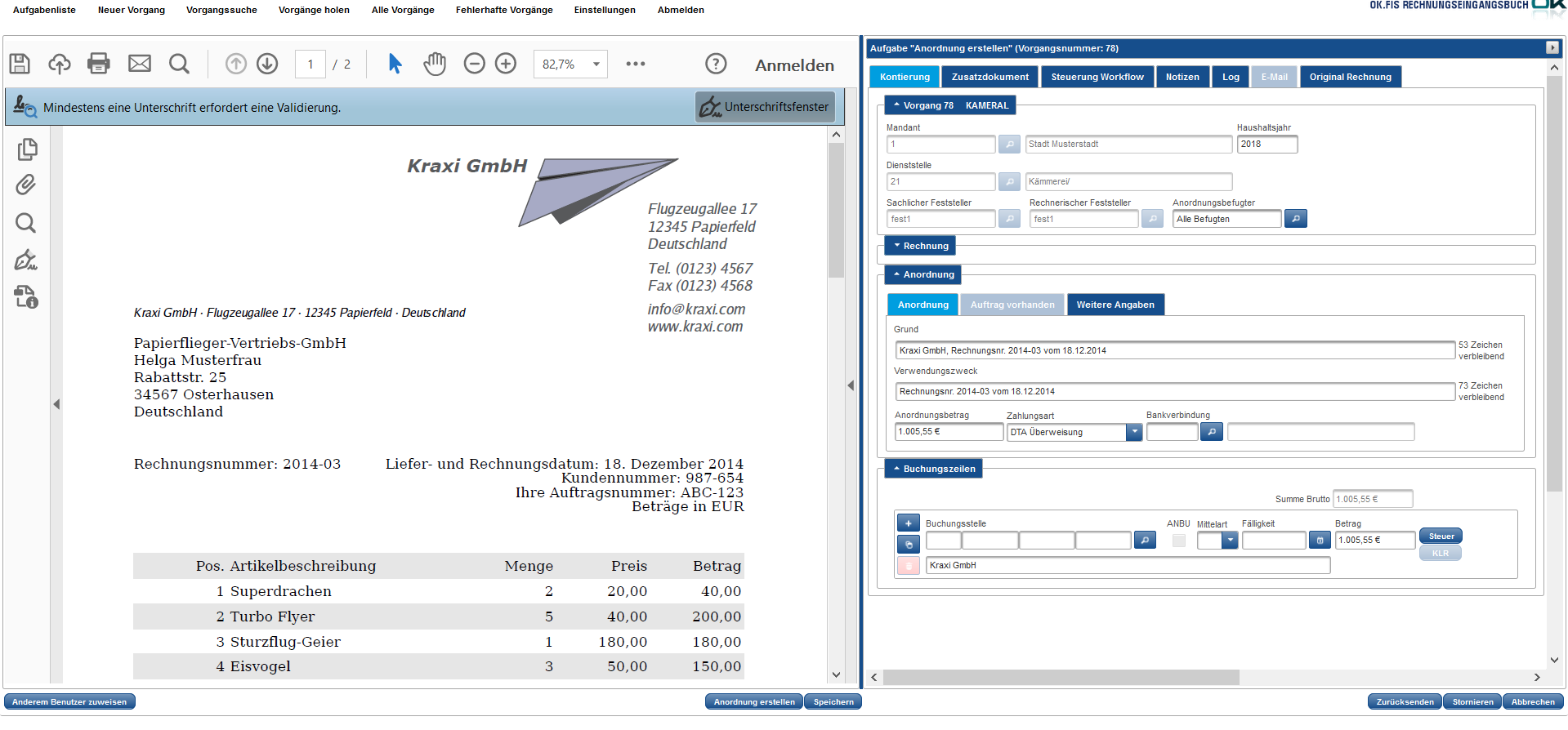E Rechnungen Empfangen Weiterverarbeiten Und Revisionssicher